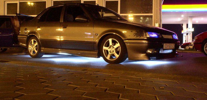 Oświetlenie LED w samochodach
